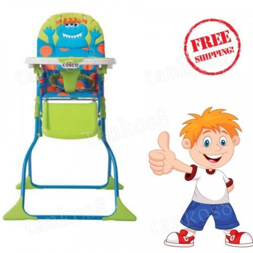 Folding-High-Chair-for-Baby-Portable-Travel-Kid-Stool-Child-Fun-Design-New-Cosco