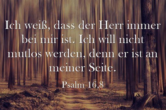 #Gott ist bei mir.