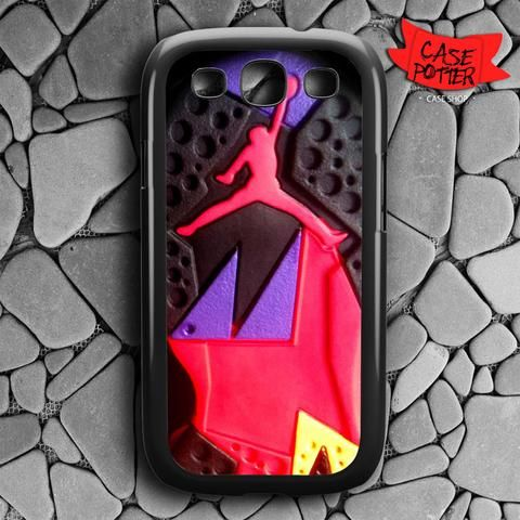 Jordan Air Retro Raptors Samsung Galaxy S3 Black Case