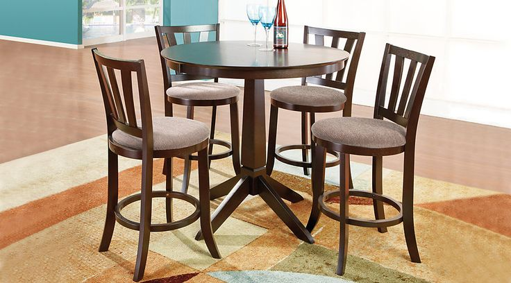 Round Casual Dining Room Sets