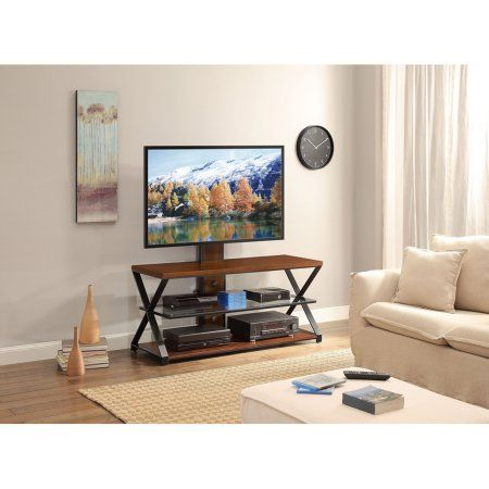 """Jaxon 3-in-1 Cognac TV Stand for TVs up to 70"""""""