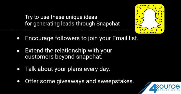 Willing to get more leads through Snapchat? Discover some easy ways to fulfill your needs.