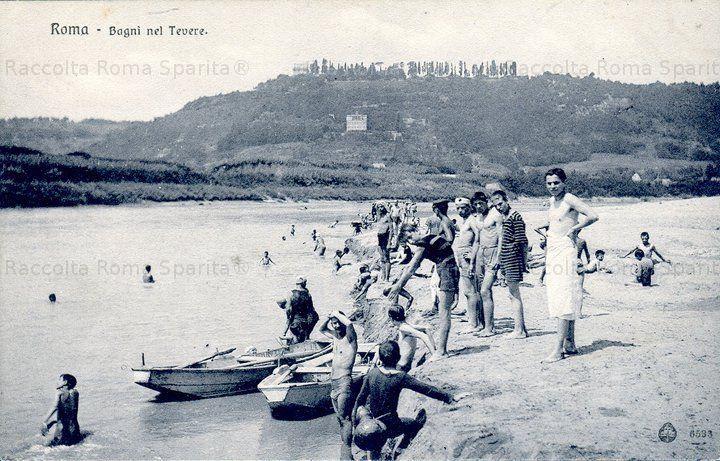 Roma Sparita - Tevere 1890