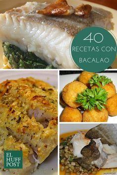 40 recetas con bacalao para 40 días de Cuaresma