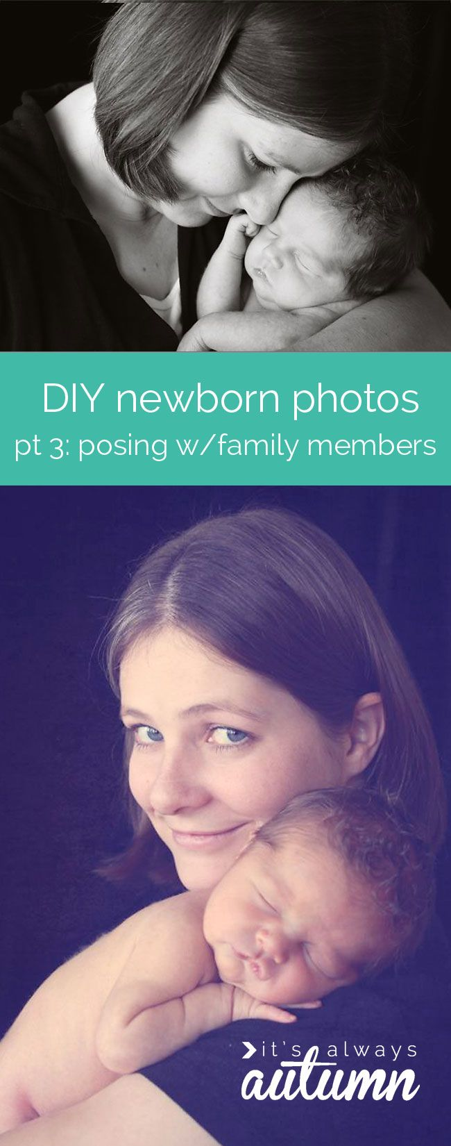 learn how to take gorgeous pictures of your #newborn #baby without spending hundreds for