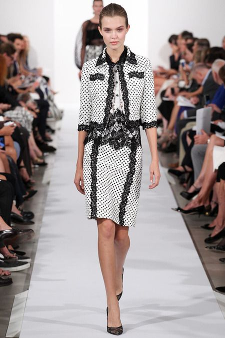 #NYFW - Runway: Oscar de la Renta Spring 2014 Ready-to-Wear Collection #odlr
