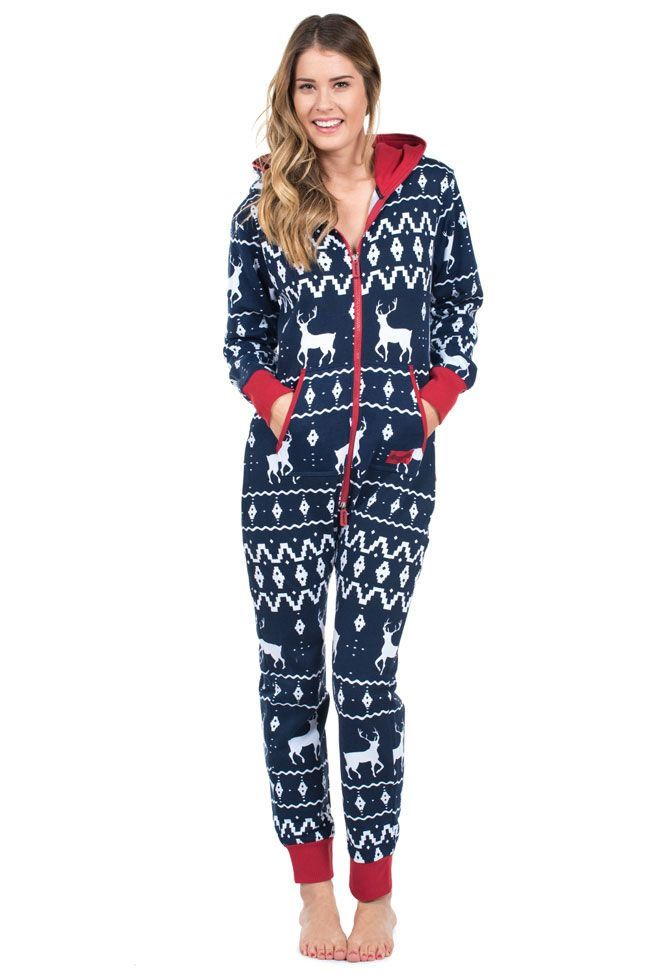 Tired of regular old pajamas  This Christmas themed jumpsuit is perfect for lazing  around in during the holidays! Now bring on winter! 46fbe1ab8