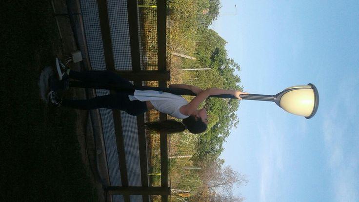 I look like pole dancer!