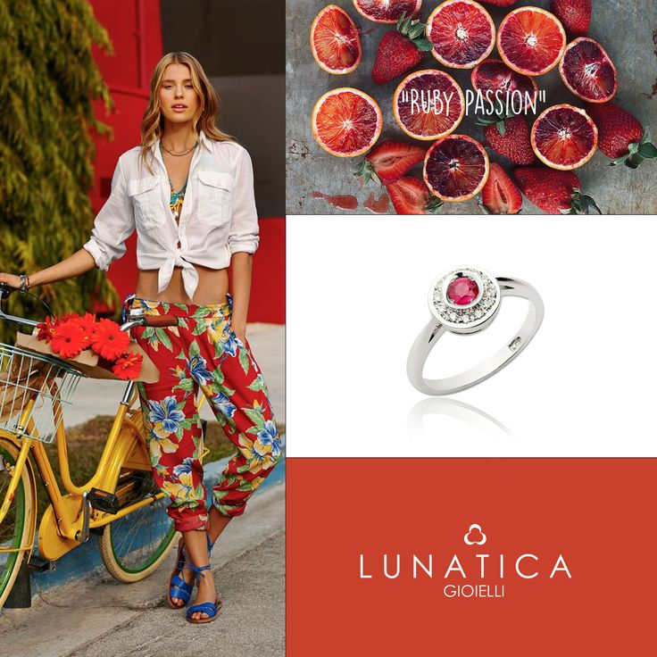 #lunatica #lunaticagioielli #gioielli #jewellery #handmade #madeinitaly #ruby #rubino #red #stone #precious #passion #love #amore #style #young #fresh #girl #ring #sun #suncollection #collection #whitegold #precious #bike #redfruits #fashion #style #mood #inspiration #inspirationred #summer #spring #vibes #roma #rome #romamor