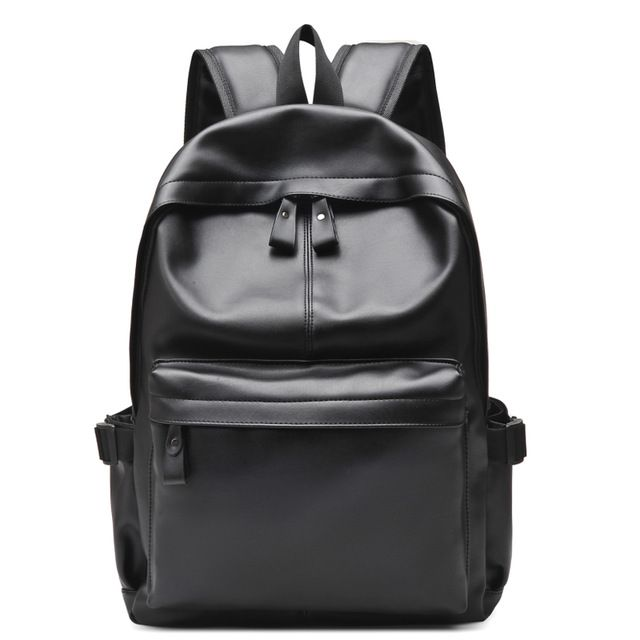 Special price 2017 Men and Women Laptop Bags 15.6 inch Pu Leather Rucksack School Travel Bag Male Backpack Notebook Computer Bag black just only $19.99 with free shipping worldwide  #backpacksformen Plese click on picture to see our special price for you