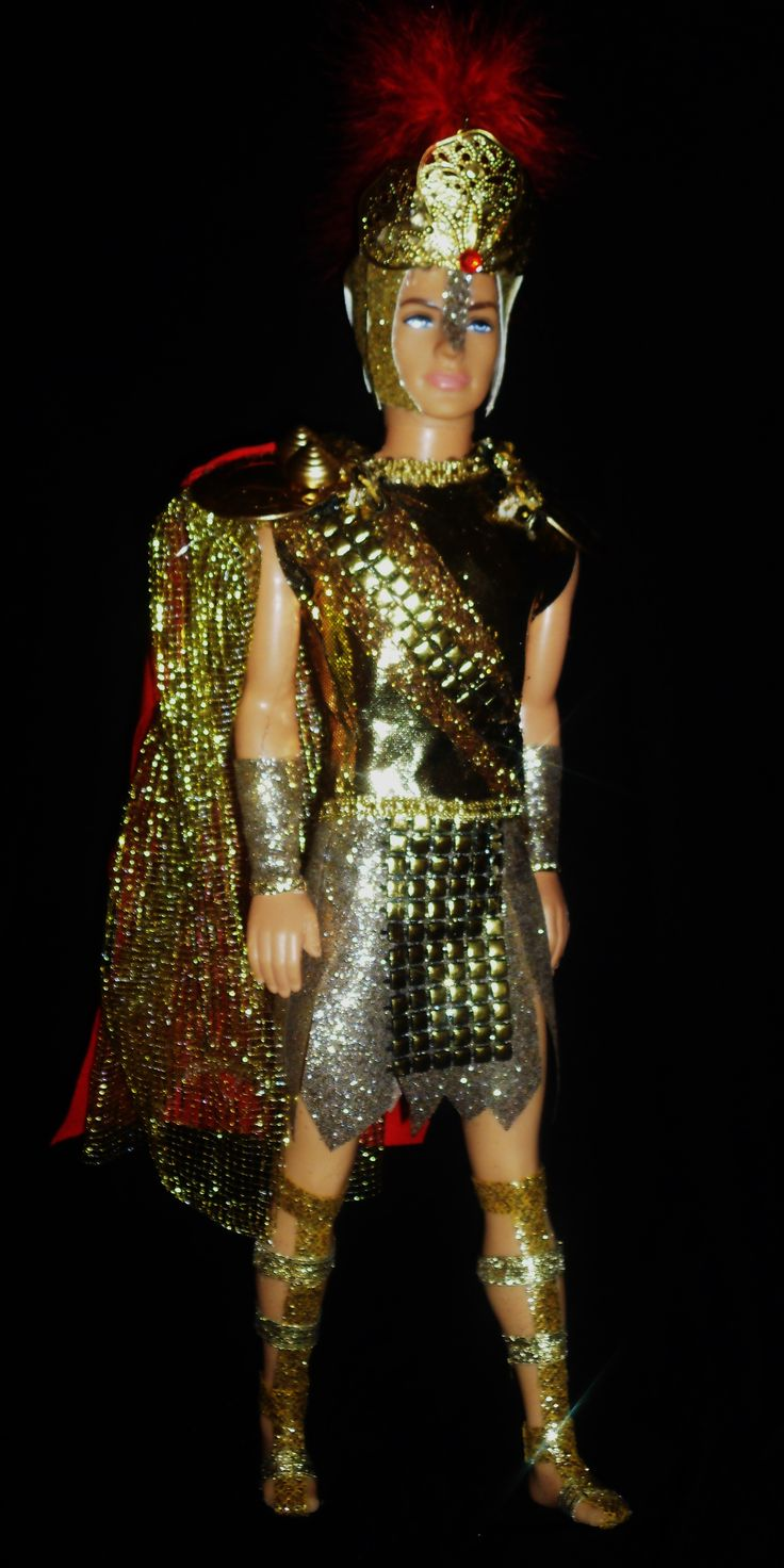 Greek God Ares Ken Doll | Growing Up in the 90s | Pinterest | Dolls, Ken doll and God