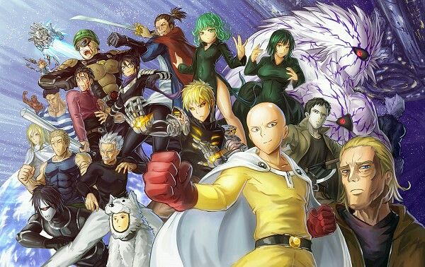 ONE PUNCH MAN XD ♥