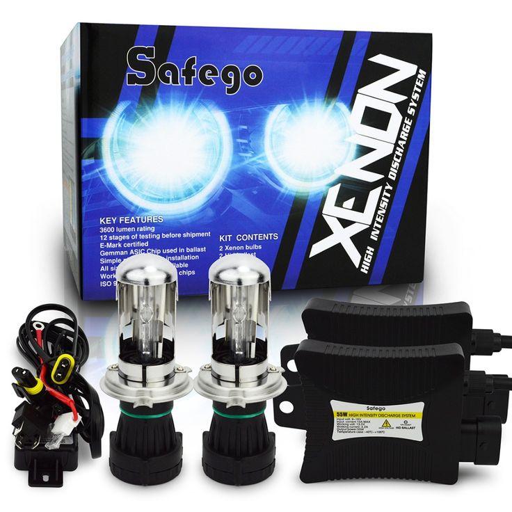1set 55w dc 12v h4 bi xenon hid kit H4-3 Bi xenon H4 Bi xenon H4 Hi/lo Bixenon h4 kit 55w 9007 9004 h13 bi-xenon 55w