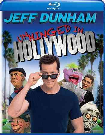 This release contains JEFF DUNHAM: UNHINGED IN HOLLYWOOD featuring master ventriloquist and puppeteer Jeff Dunham and his puppet pals performing for the first time at the famed Dolby Theater in Los An