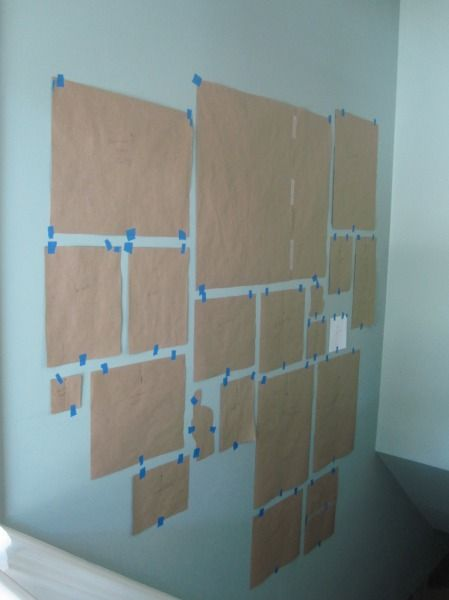 Stair Gallery Wall Templates At Top Of Stairs Home Is