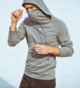 Ninja Hoodie - gift idea for Dylan. :)