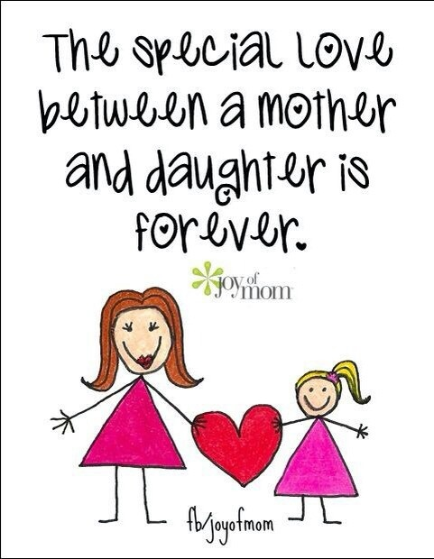 I love my daughter more than anything in the world. We're like two peas in a pod. I ♥ my little girl!