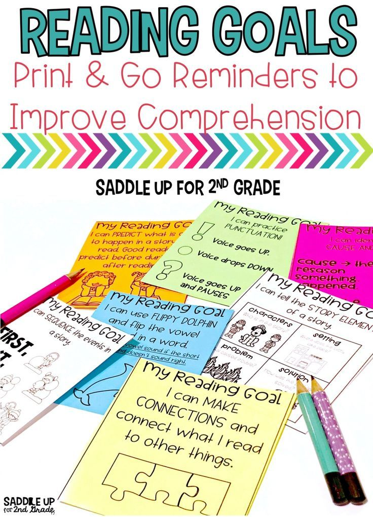 Create a visual reminder for each individual reader so they can remind themselves what they are working on. Once students learned a skill during whole or small group instruction give them a visual reminder help keep them focused on what they should be working on. Print onto white or colored paper. These can be stored (tape or stapled) into a reading notebook or take home folder.