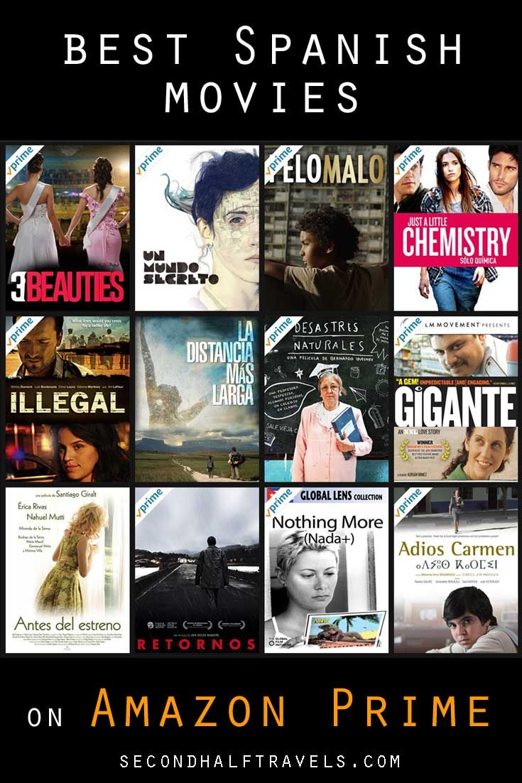 25 Best Spanish Movies On Amazon Prime 2020 Spanish Movies Learning Spanish How To Speak Spanish