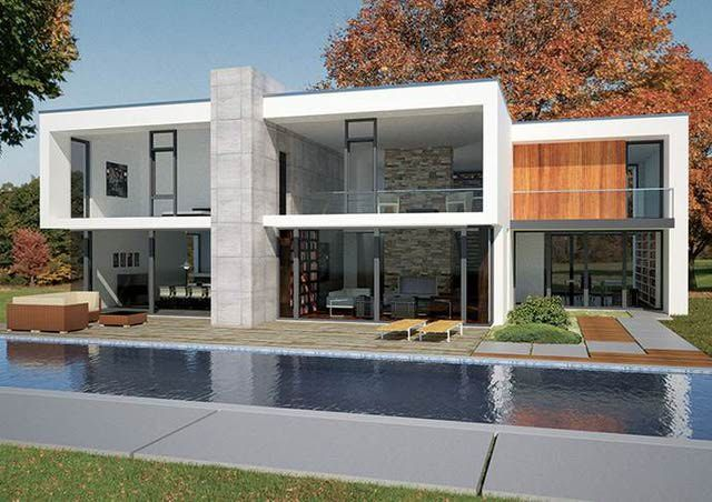 What is a stick built home construction process for Ultra modern modular homes