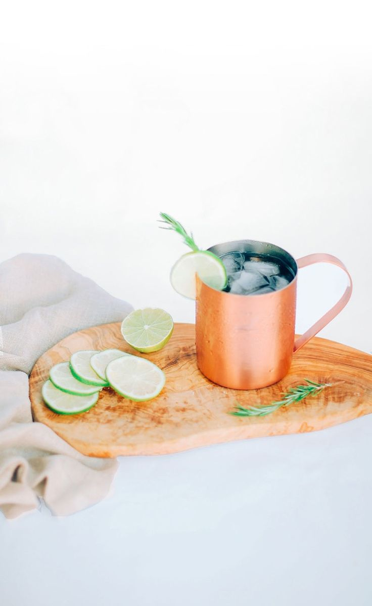 Yummy Moscow Mule cocktail recipe.