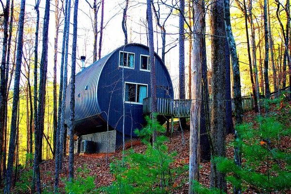 Unicoi state park - north Georgia barrel cabin