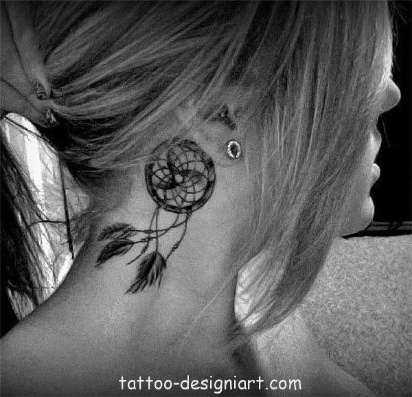 tattoo dreamcatcher idea tattoos art design style girls picture image http://www.tattoo-designiart.com/tattoos-designs-for-girls/dream-catcher-tattoo-design-38/