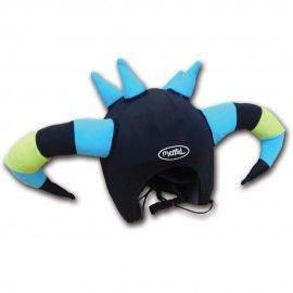Martian Crazy Helmet cover. Fun helmet cover for ski & snowboard Mental Gear