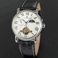 Features:    -100% brand new and high quality. -Durable Leather bend. -Precise quartz movement for a