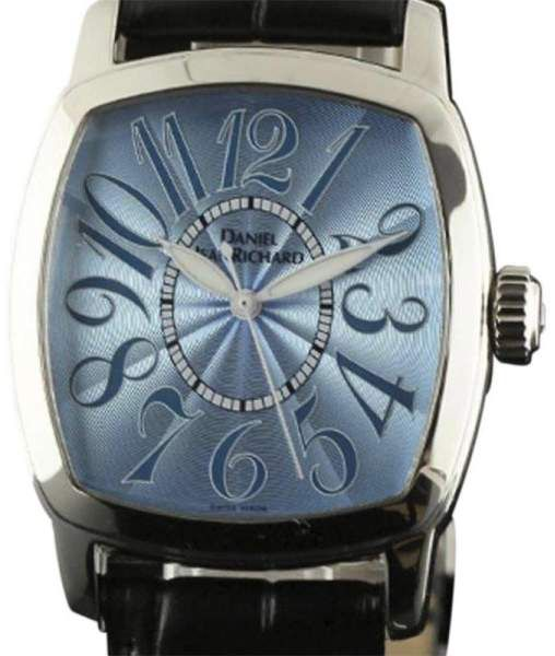 Jean Richard Earth 24006-11-41A Stainless Steel & Leather Automatic 35mm Womnes Watch