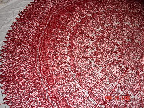 Knitting Crochet In Spanish : Spanish peacock knitting pattern shawls always