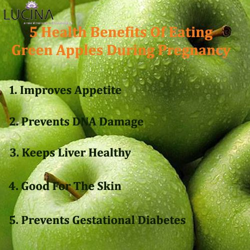 5 Health Benefits Of Eating Green Apples During Pregnancy!!  #Pregnancy #Pregnancycare #Mothercare #Lucinacare
