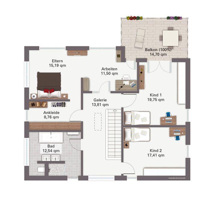 Grundriss Dg Modell Baggio Haus Grundriss Grundriss Wohnung Haus Planung