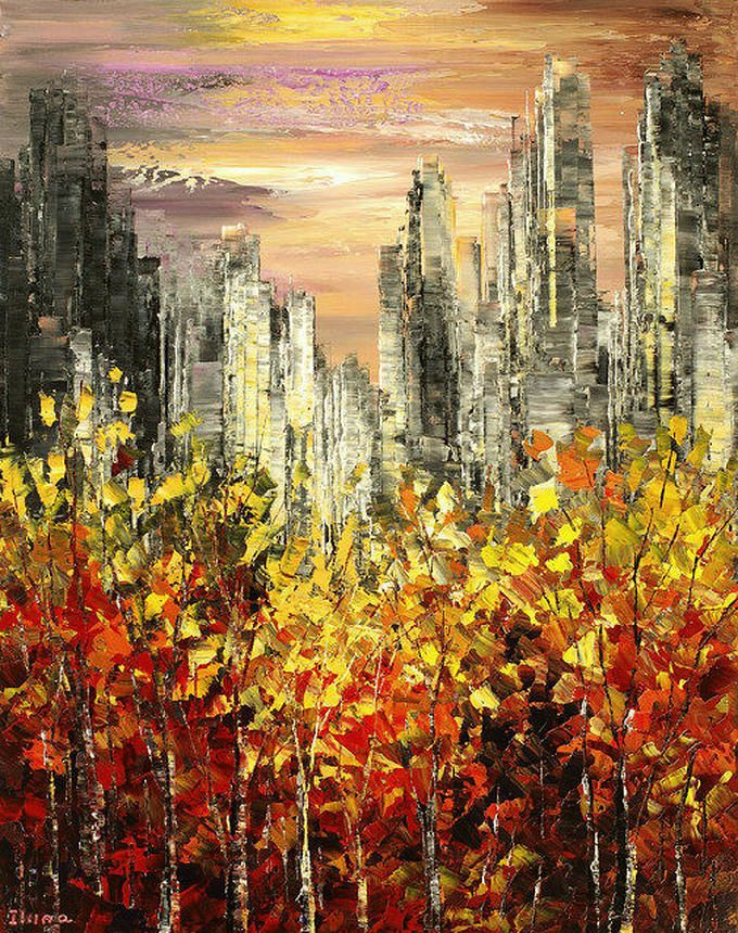 "Tatiana Iliina Paintings | ""Changing Times"""