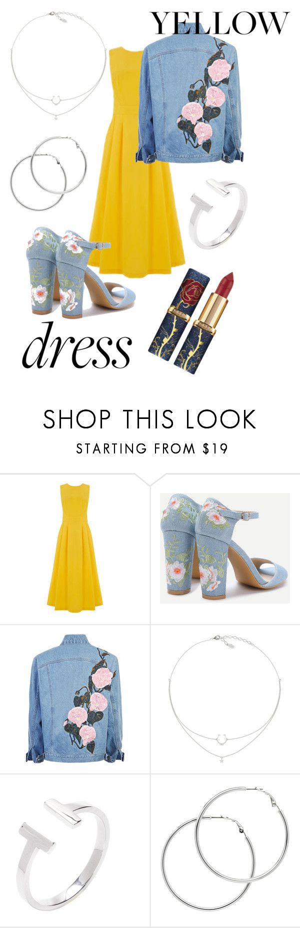 """Jeans with everything."" by luisa-garcia-6 ❤ liked on Polyvore featuring Warehouse and Melissa Odabash"