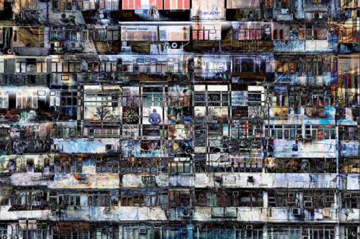 Chaos door Alain Delvoye