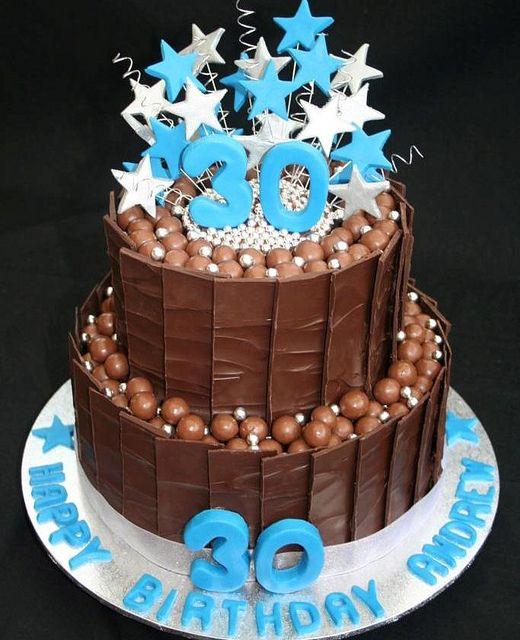 30th Birthday Cake by Leonie's Creations, via Flickr