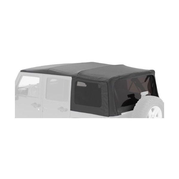 Bestop-Bestop® 76308-35 Black Diamond Supertop® for Truck Bed Cover (5.0' Bed) for 2005-2012 Toyota Tacoma Double Cab