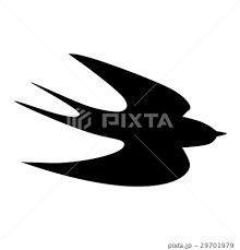 「ツバメ 群れ シルエット」の画像検索結果