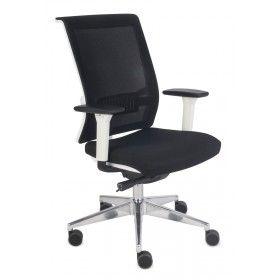 Fotel biurowy Level WS Chrome Grospol mix tkanin