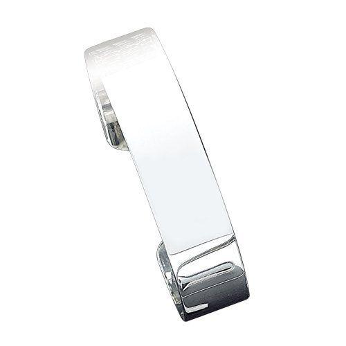 Sterling Silver 14.75mm Fancy Cuff Bangle Bracelet Jewelry Adviser Bangle Bracelets. $96.08. Save 60%!