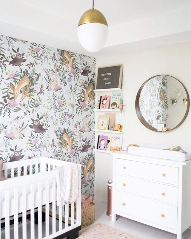 One Of Our Most Magical 2019 Nursery Trends The Enchanted Forest