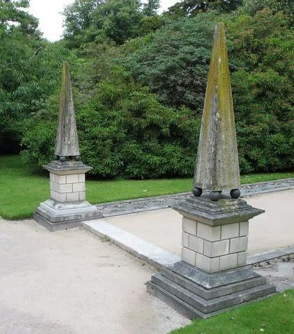 Holker Hall Obelisks