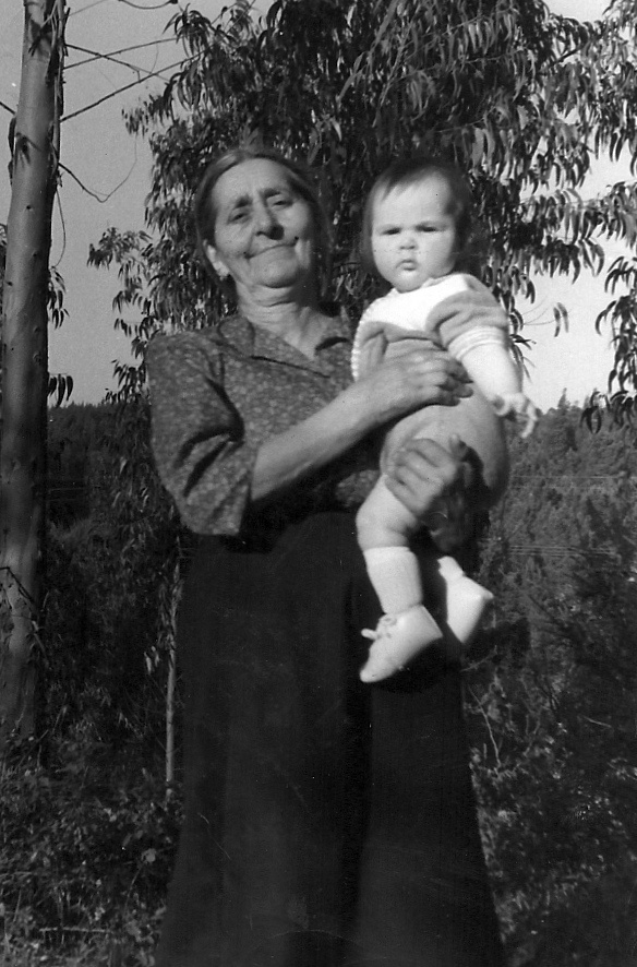 My Great-Grandmother Piedade & I