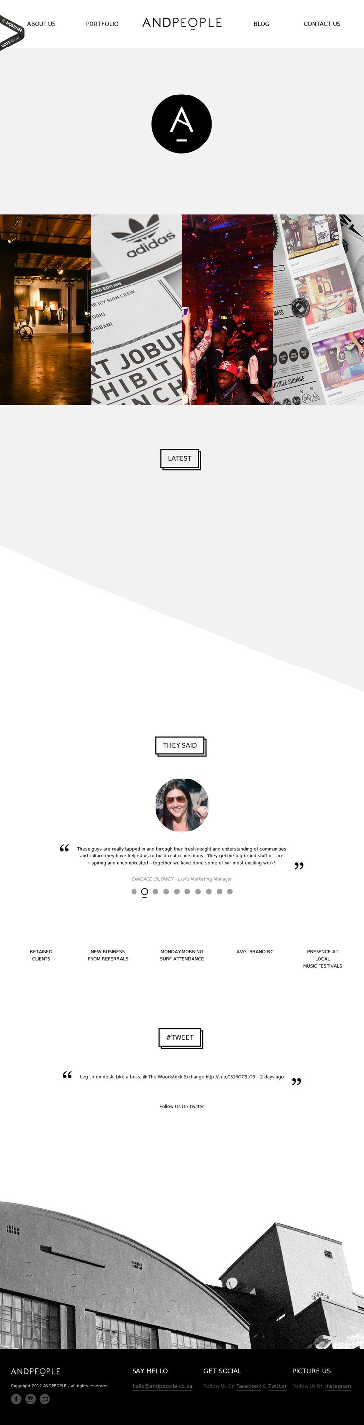 Very Simple site or landing page design inspiration. Sleek, modern, and high class design.