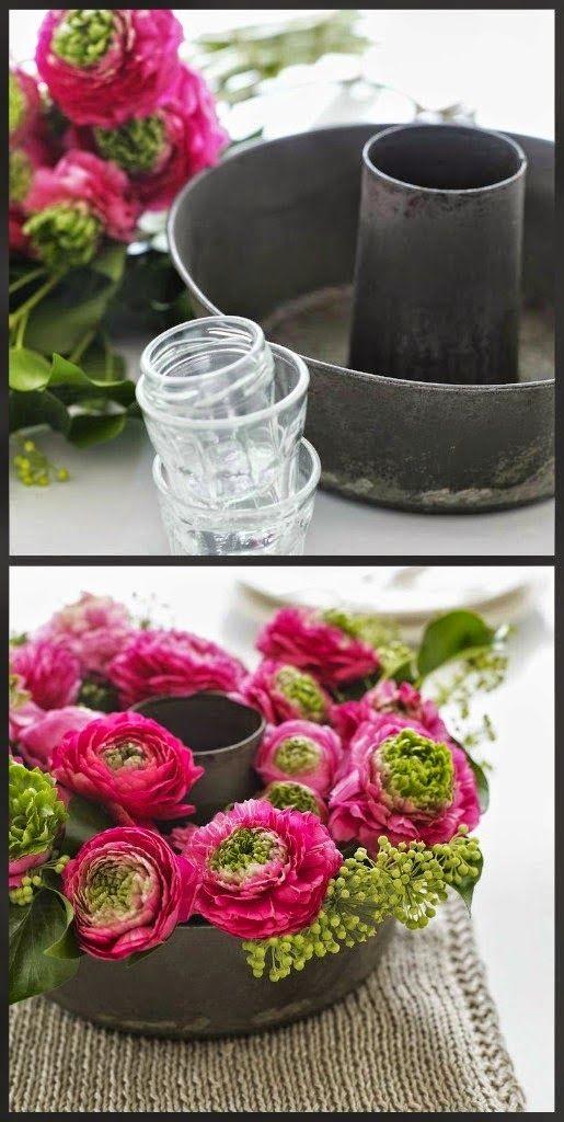 Repurpose Use Of Bundt Cake Container