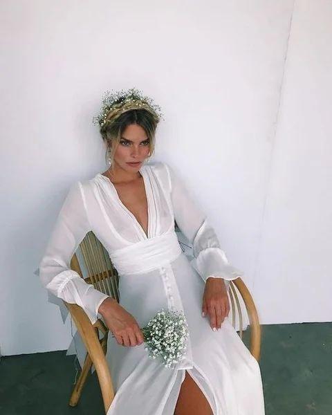 Современные свадебные платья...