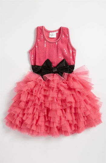 Ooh! La, La! Couture 'Wow' Sequin Tutu Dress (Little Girls) available at #Nordstrom   Not my idea. But ava loves it! It is such a toddler/ princess love!