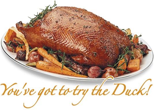 King Cole Ducks full dressed plate
