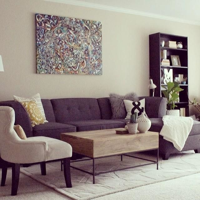 A look at our living room makeover on the blog @ryan_rosenkilde